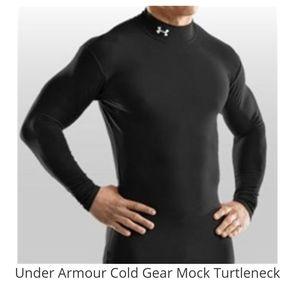 Under Armour Cold Gear Mock Turtleneck